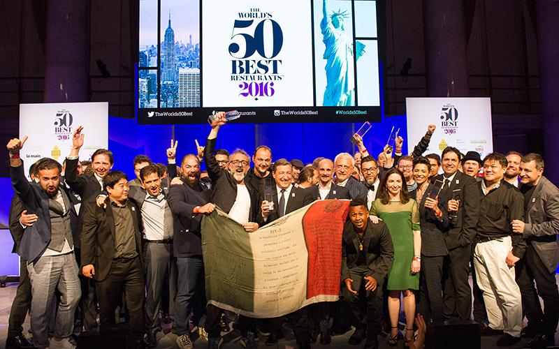 World's 50 Best Restaurants 2016