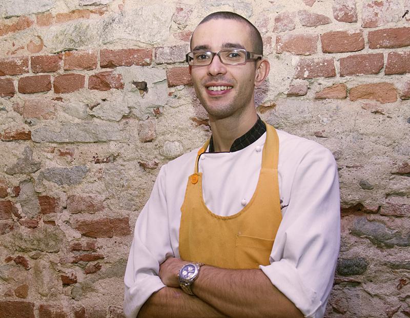 Gabrio Dei, chef di Alex Ristorante Enoteca a Marina di Pietrasanta (LU)