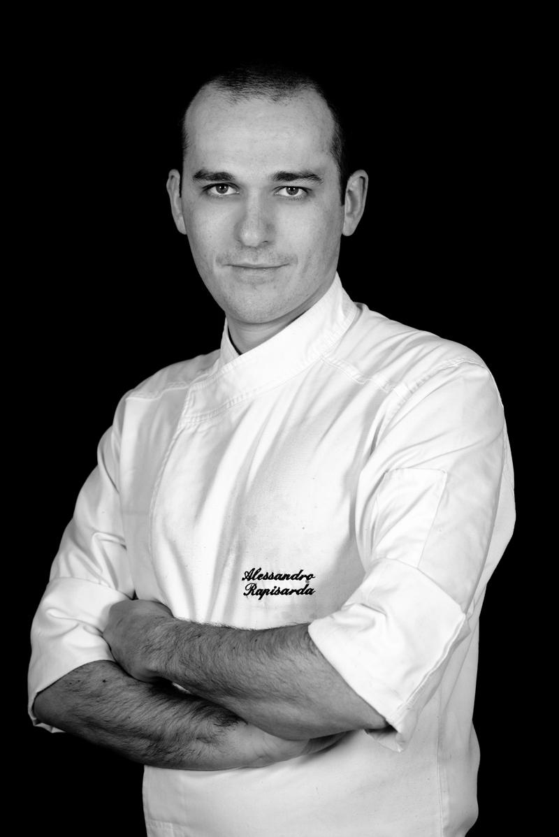 Alessandro Salvatore Rapisarda, chef del Ristorante Café Opera a Recanati (MC)