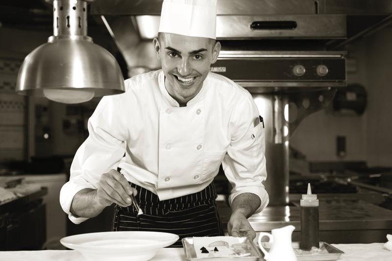 Edoardo Fumagalli, chef de La Locanda del Notaio a Pellio Intelvi (CO)