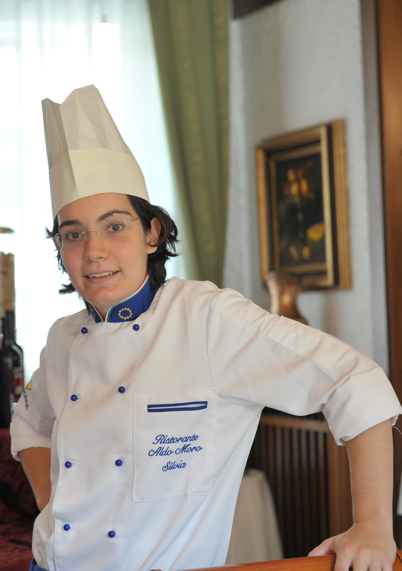 Silvia Moro, chef del ristorante Aldo Moro a Montagnana (PD)