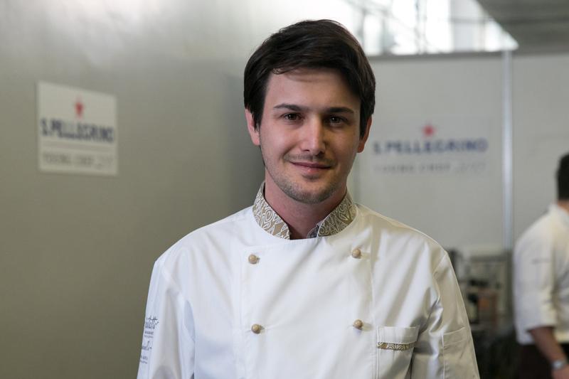 Cosimo Bunicelli, chef del ristorante Agrigourmet Intatto a Calice Al Cornoviglio (SP)