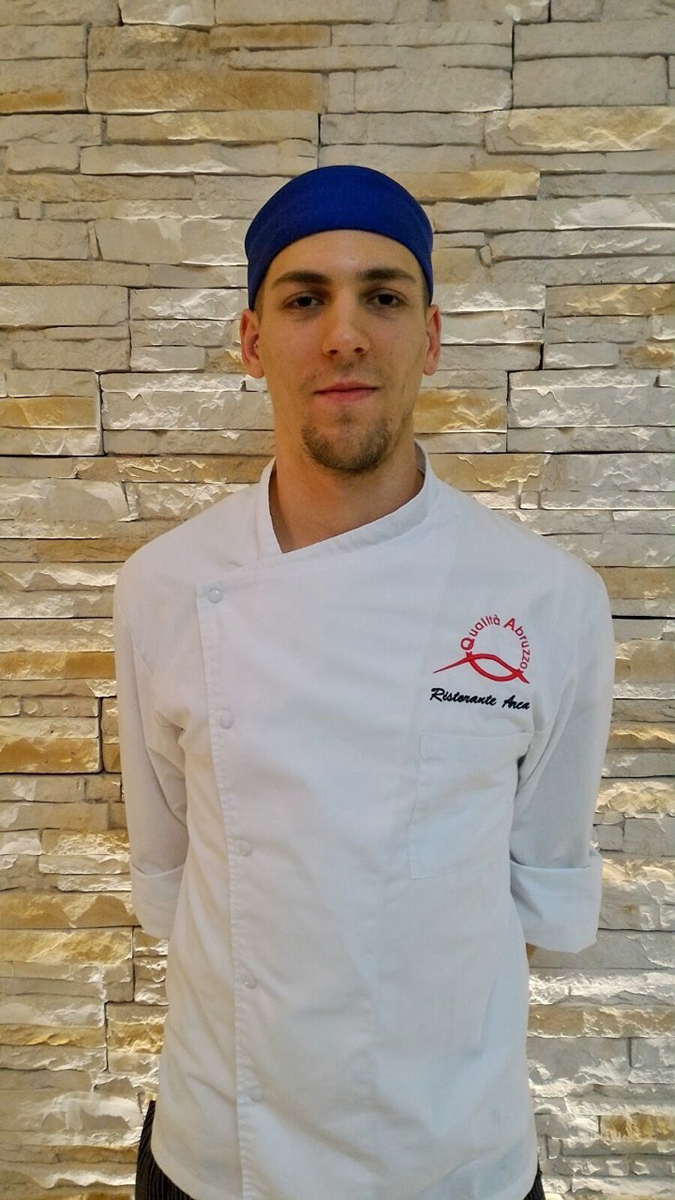 Edoardo Massari,  sous-chef del ristorante Arca ad Alba Adriatica (TE)