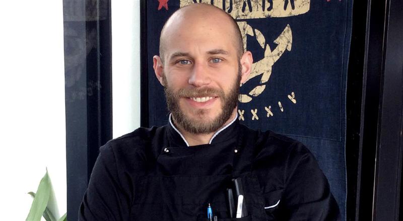 Alessandro Intini, chef del ristorante Nidaba a Montebelluna (TV)
