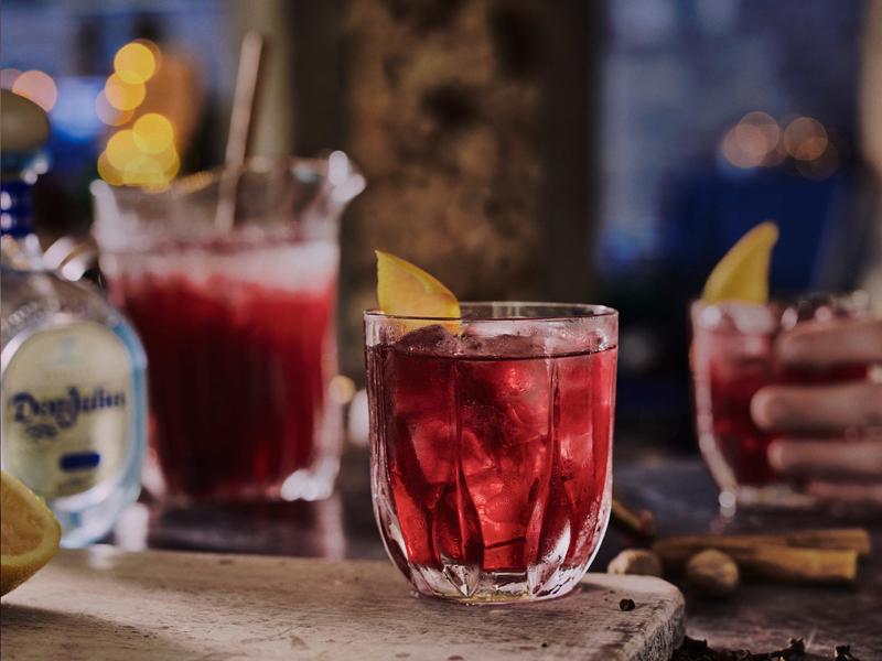 Cocktail San Valentino 2017 - Don Julio® Blanco Mulled Winter Margarita