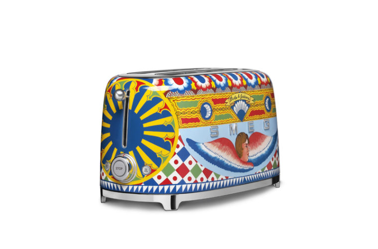 Dolce&Gabbana e Smeg, Tostapane Sicily is my Love