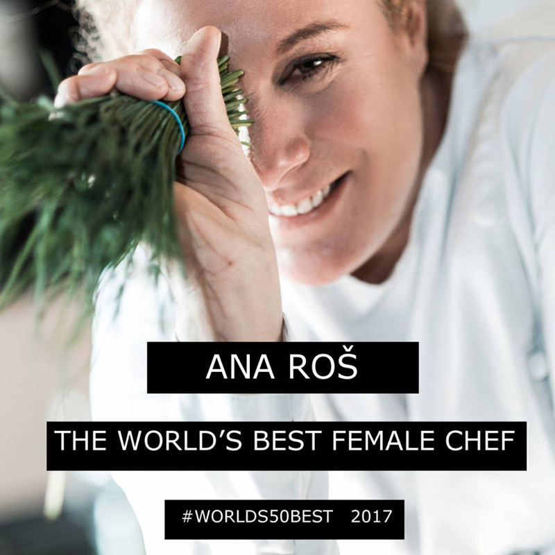 World's 50 Best Restaurants - Miglior chef donna, Ana Roš